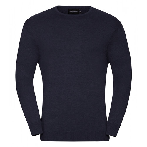 Russell Men´s Crew Neck Pullover French Navy