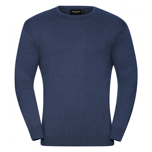 Russell Men´s Crew Neck Pullover Denim Marl
