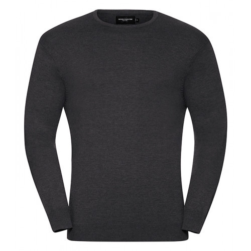 Russell Men´s Crew Neck Pullover Charcoal Marl
