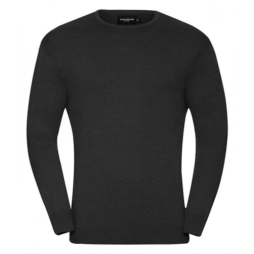Russell Men´s Crew Neck Pullover Black