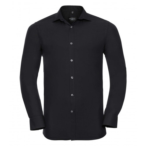 Russell Men´s Long Sleeve Ultimate Stretch Black
