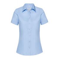 Russell Ladies SS Tailored Coolmax® Shirt Light Blue