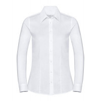 Russell Ladies SS Tailored Coolmax® Shirt White
