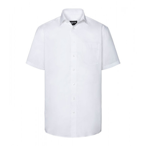 Russell Men´s SS Tailored Coolmax® Shirt White