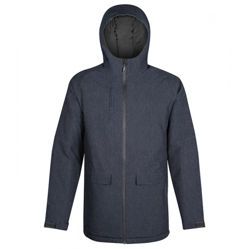 Stormtech M's Ascent Insulated Parka NAVY HEATHER