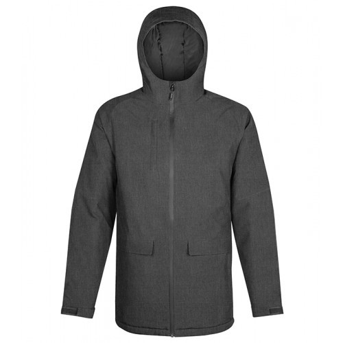 Stormtech M's Ascent Insulated Parka CARBON HEATHER