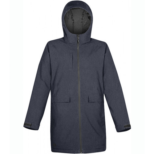 Stormtech W's Ascent Insulated Parka NAVY HEATHER