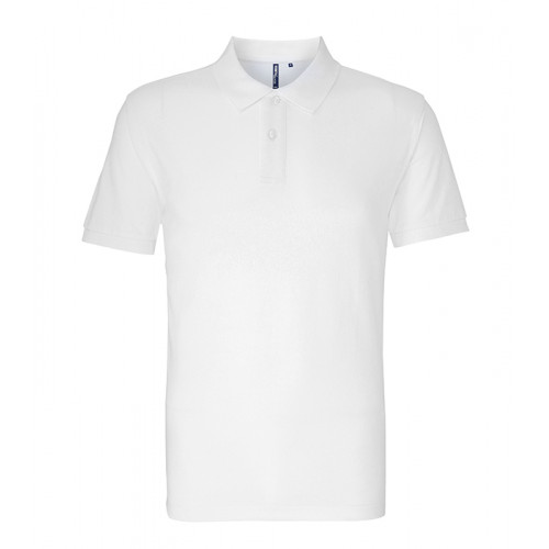 Asquith and Fox Men's Classic Polo White