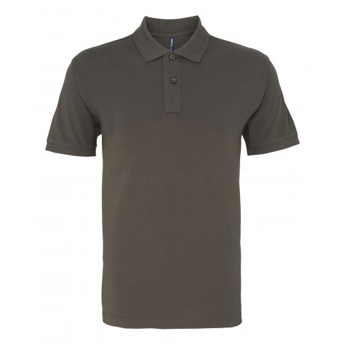 Asquith and Fox Men's Classic Polo Slate