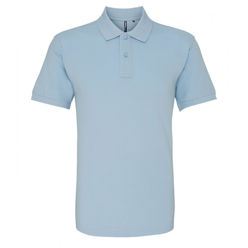 Asquith and Fox Men's Classic Polo Sky