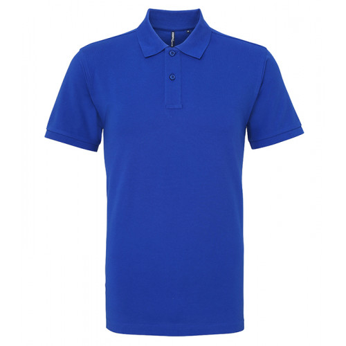 Asquith and Fox Men's Classic Polo Royal