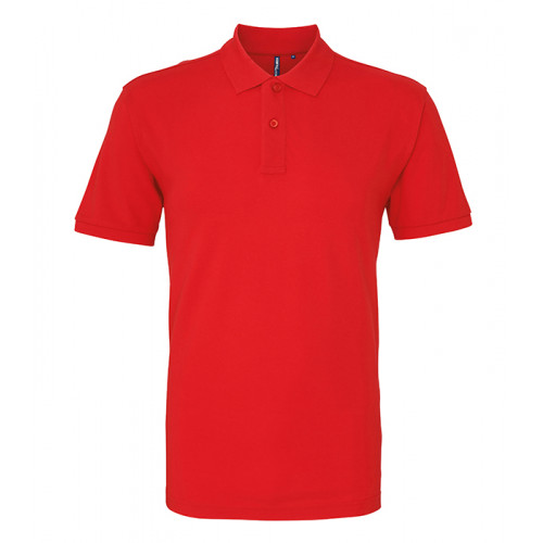 Asquith and Fox Men's Classic Polo Red