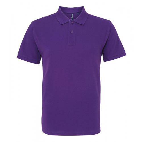 Asquith and Fox Men's Classic Polo Purple