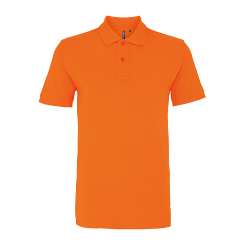 Asquith and Fox Men's Classic Polo Orange