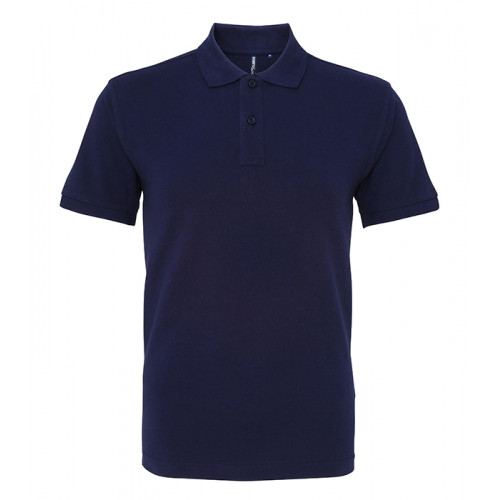 Asquith and Fox Men's Classic Polo Navy