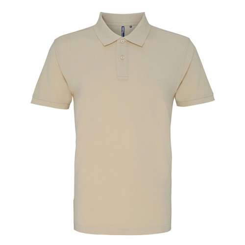 Asquith and Fox Men's Classic Polo Natural