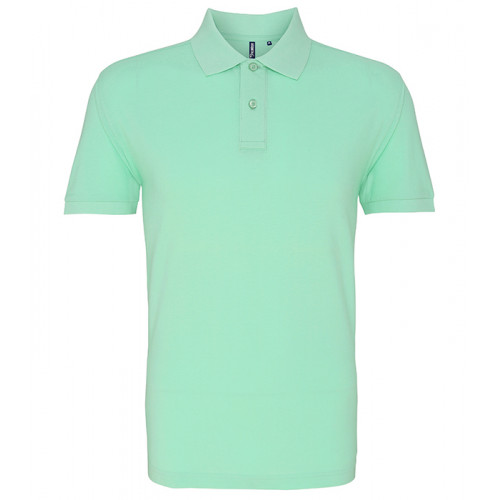 Asquith and Fox Men's Classic Polo Mint