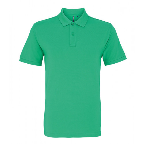 Asquith and Fox Men's Classic Polo Kelly