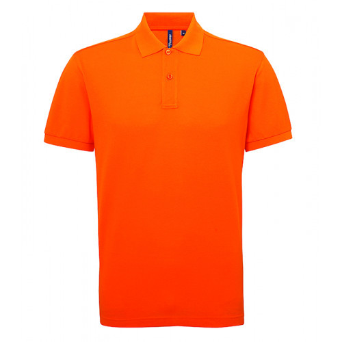 Asquith Men's classic fit performance blend polo Orange
