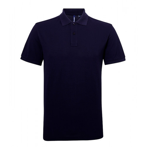 Asquith Men's classic fit performance blend polo Navy