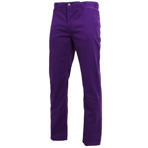 Asquith Mens Classic Fit Chino Regular Purple