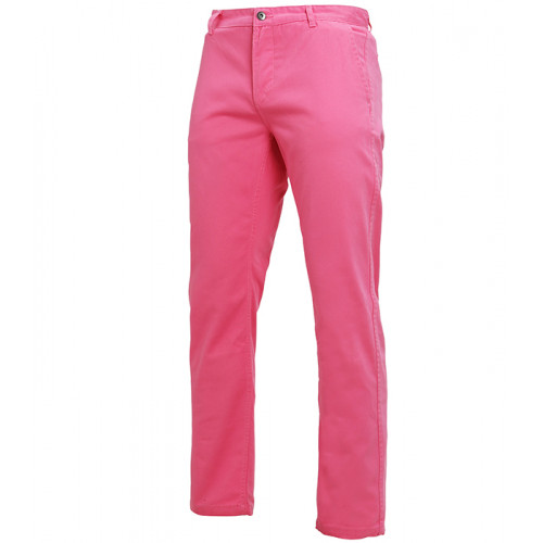 Asquith Mens Classic Fit Chino Regular Pink Carnation