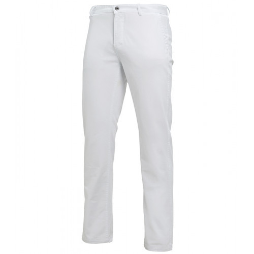 Asquith Mens Classic Fit Chino Tall White