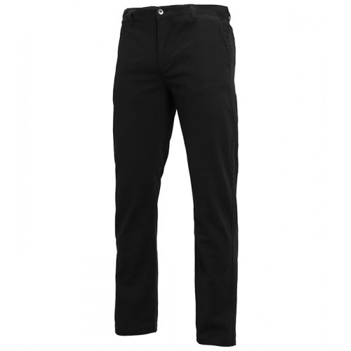 Asquith Mens Classic Fit Chino Tall Black