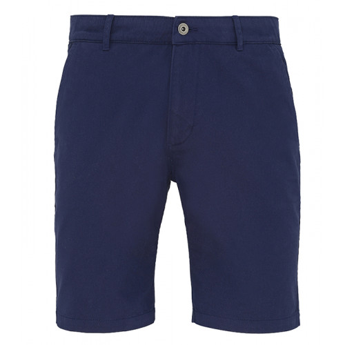 Asquith Mens Classic Fit Shorts Navy