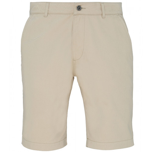 Asquith Mens Classic Fit Shorts Natural