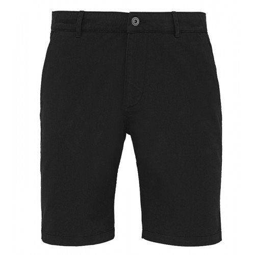 Asquith Mens Classic Fit Shorts Black