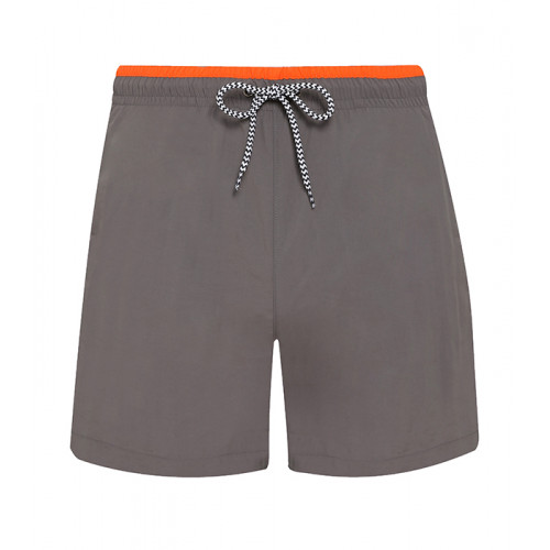 Asquith Men's swim shorts Slate/Orange