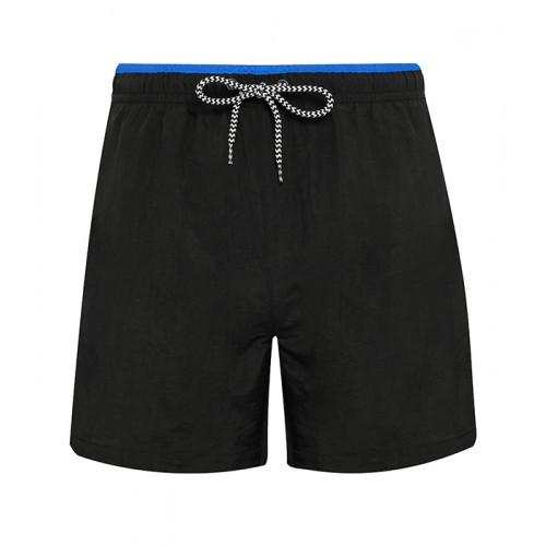 Asquith Men's swim shorts Black/Royal