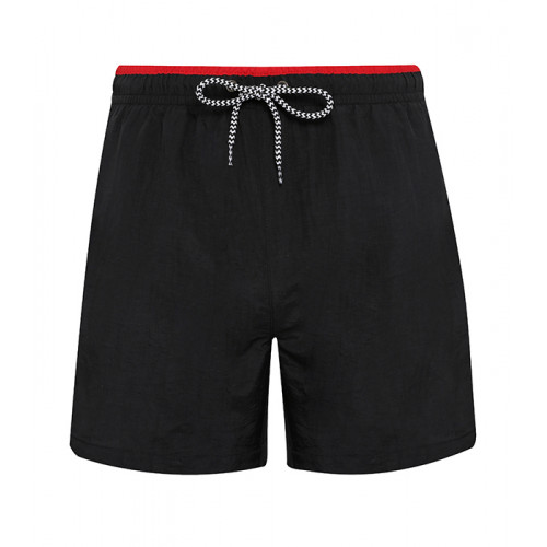 Asquith Men's swim shorts Black/Red