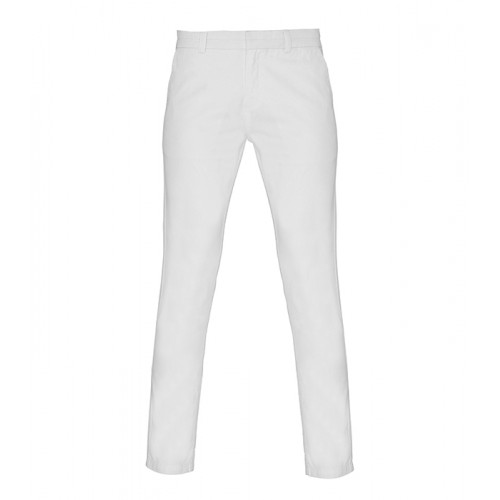 Asquith & Fox Women's chino White