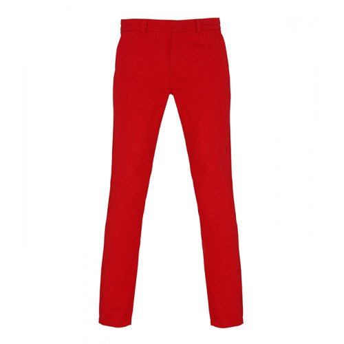 Asquith & Fox Women's chino Cherry Red
