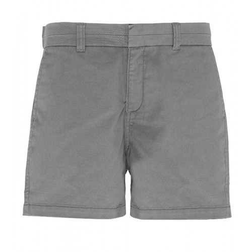 Asquith Women's chino shorts Slate