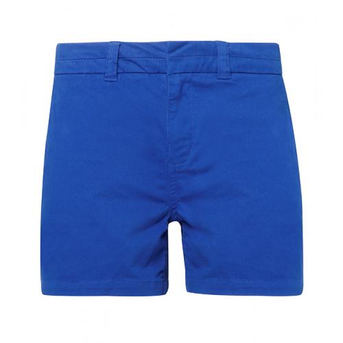 Asquith Women's chino shorts Royal