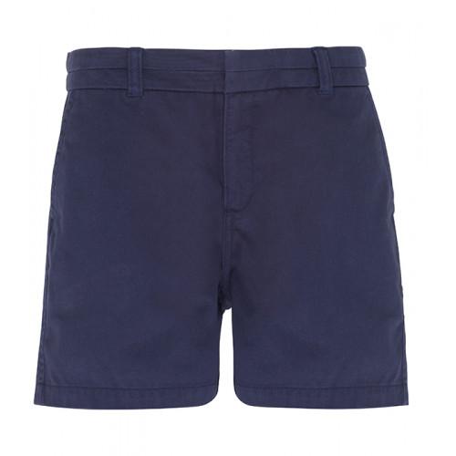 Asquith Women's chino shorts Navy