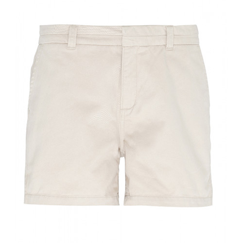 Asquith Women's chino shorts Natural