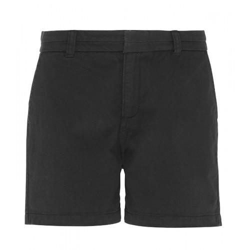 Asquith Women's chino shorts Black