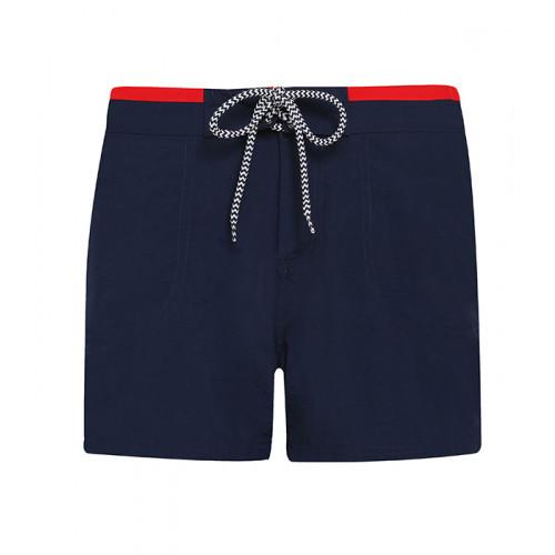 Asquith Women's swim shorts Navy/Red