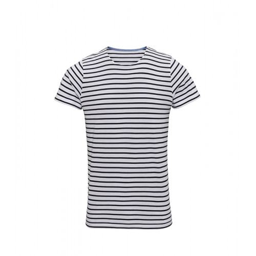 Asquith Men´s Mariniere Coastal S/S Tee White/Navy