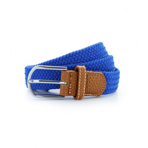 Asquith Braid Stretch Belt Royal