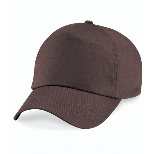 Beechfield Original 5 Panel Cap Chocolate