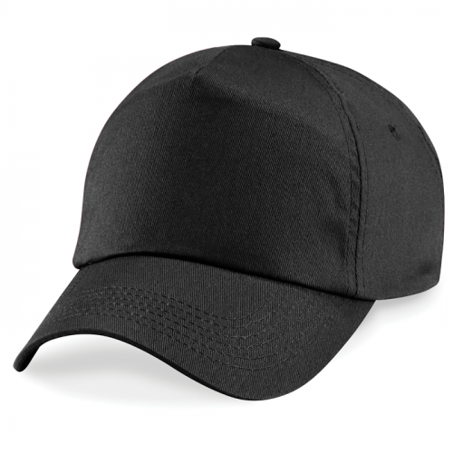 Beechfield Junior Original 5 Panel Cap Black
