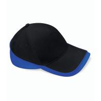 Beechfield Teamwear Competition Cap Black/Bright Royal