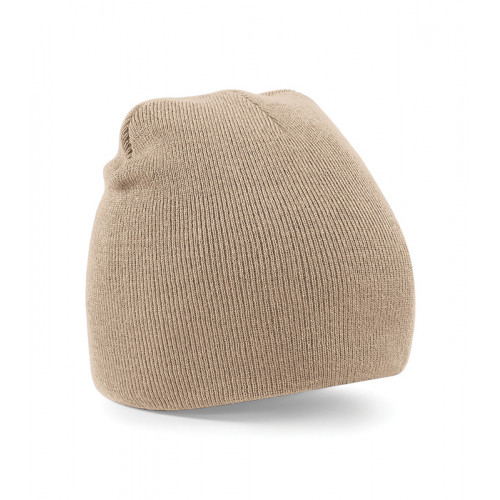 Beechfield Beanie Knitted Hat Stone
