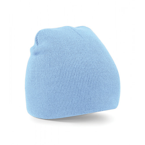 Beechfield Beanie Knitted Hat Sky
