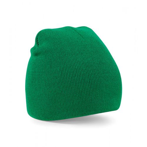 Beechfield Beanie Knitted Hat Kelly Green